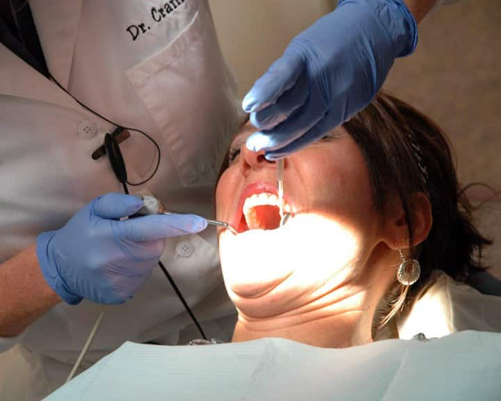 Contact a professional as soon as possible to prevent further dental injury. (Photo by Katie Jacewicz)