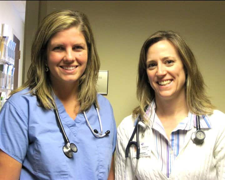 Meet with your healthcare provider regularly to get checkups. (Photo courtesy of Courtney Sparks)