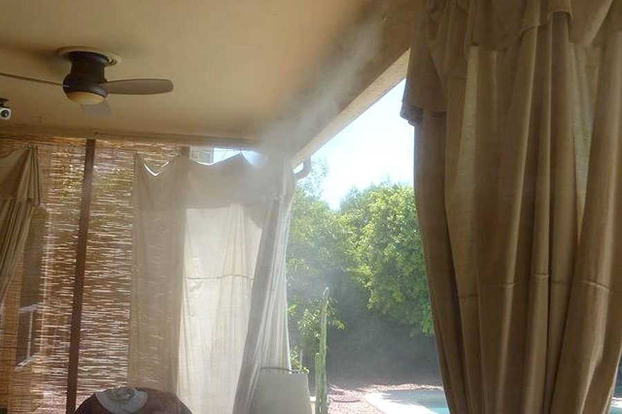Misting Systems Can Help Cool Down Outdoor Areas, Such As Patios, Porches  Or Cabanas