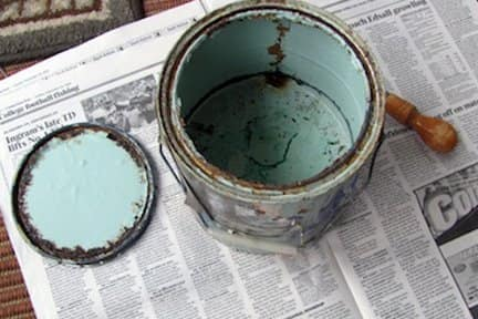If you have good paint that you can't use, offer it to family, friends and neighbors, or call a local paint contractor.