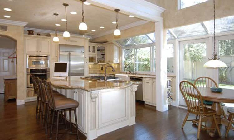"""Angie's List member Andrew E. of Aliso Viejo, Calif, loves the way his kitchen remodel turned out. """"This was not a simple remodel,"""" he says. """"We wanted not only a new kitchen but a complete reconfiguration including removal of walls."""""""