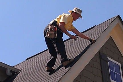 A roof inspector can help identify potential problems before they occur and keep damage to a minimum. (Photo courtesy of Angie's List member Michael C.)