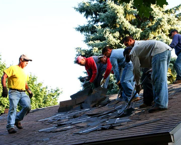 Monitor the condition of your roof to prevent excessive damage. (Photo courtesy of David & Ory Ludwin)