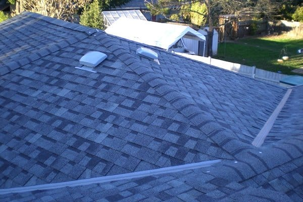 Asphalt shingle roofs can last for up to 50 years if properly maintained. (Photo courtesy of Wade Anderson)