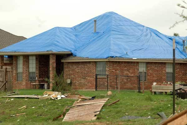 Oklahoma tornado victims begin to rebuild, but local contractors warn homeowners to avoid out-of-state companies looking to make a quick buck. (Photo by Katie Jacewicz)