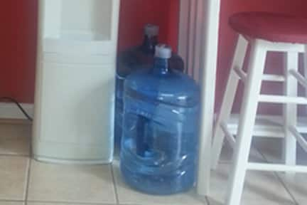 Most water delivery companies carry traditional water coolers. (Photo courtesy of Angie's List member Octavia D.)