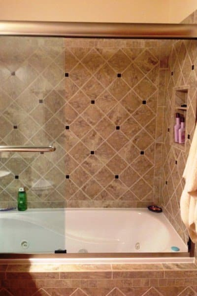 Homeowner sacrifices closet for master suite remodel for Bath remodel gurnee