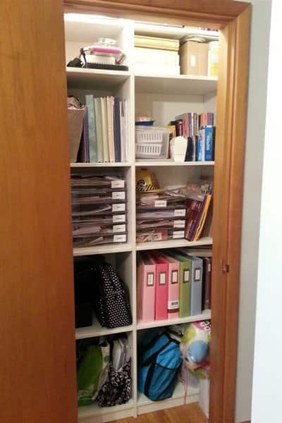 Downsizing and organizing your possessions can reduce clutter and help you decide where valuable and important items will end up, says Mobley. (Photo courtesy of Angie's List member Rebecca L. of Columbus, Ohio)