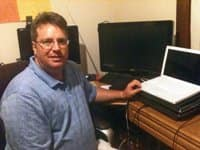 Owner Bill Clark spends much of his time protecting personal data security.