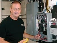 Paul Miller brings 34 years of experience to the electrical business.