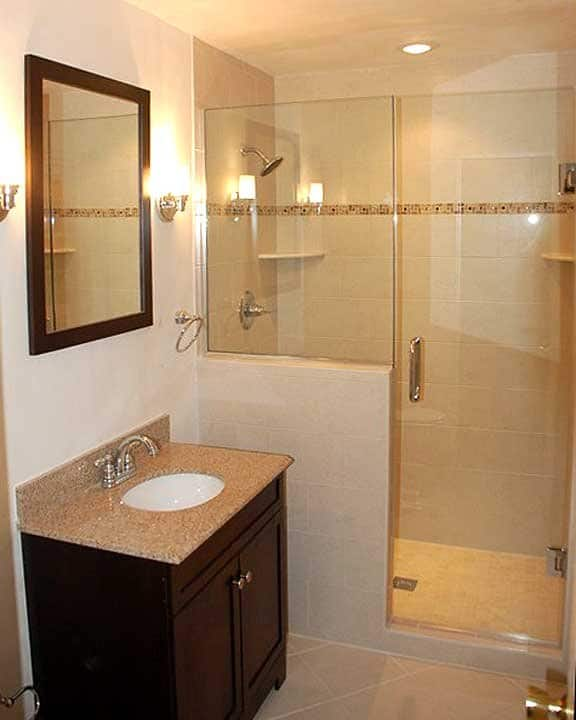 Bathroom Remodel With Walk In Shower