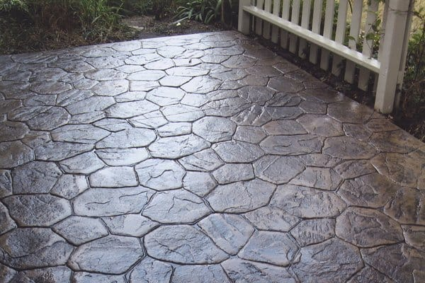 Photos Outdoor Patio Ideas Angies List - Stamped concrete patio cost per square foot