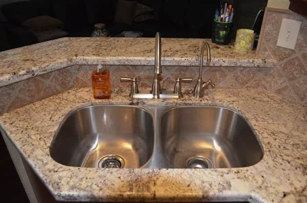 sink with new fixtures