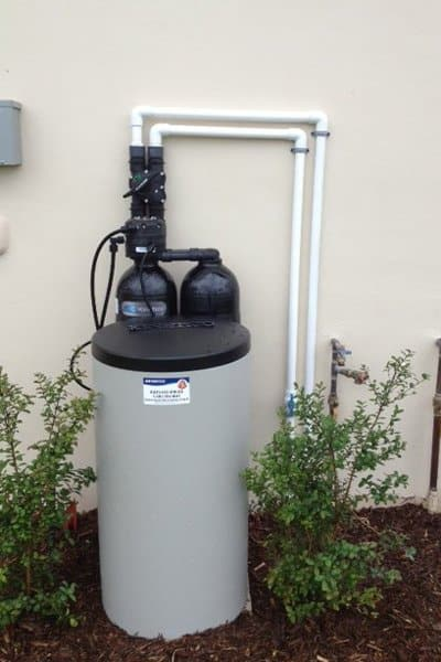Sizing the water treatment equipment before purchase is essential, as not all systems will fit in every home, Finn says. (Photo courtesy of Kinetico Water Systems of SWFL)