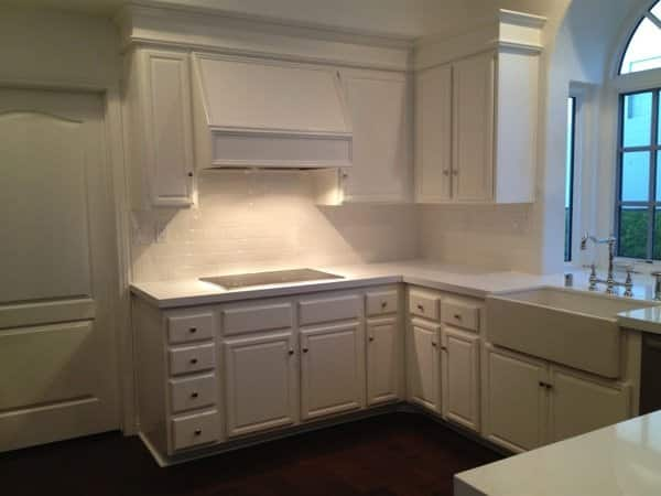 ECS Construction saved Angie's List member Larry Schwartz money by having his old cabinets painted. (Photo courtesy of Larry Schwartz)