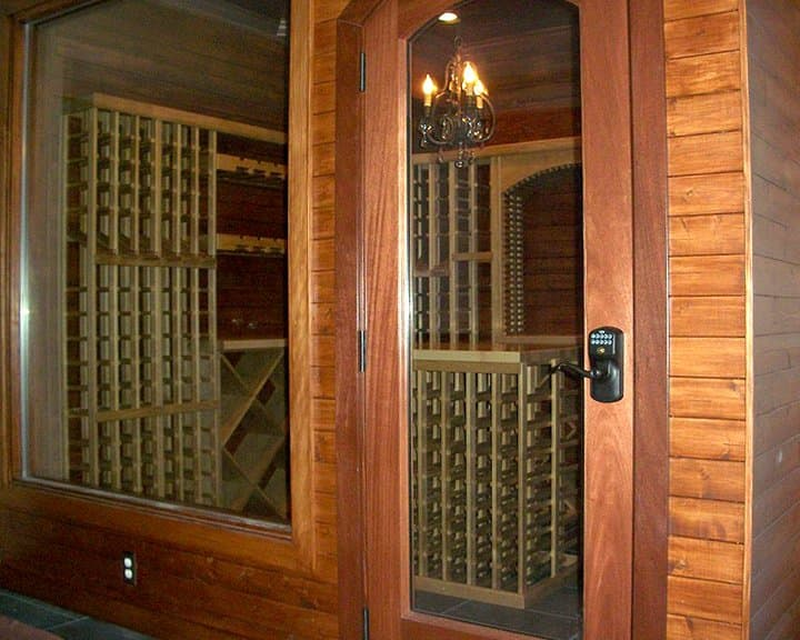 general remodel with wine cellar