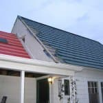 Indianapolis roofing company installs steel wood shake