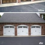 Photos before after garage doors angie 39 s list for Discount garage door repair indianapolis