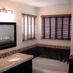 bathroom remodel with granite countertops