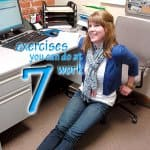 exercises you can do at your desk at work