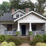 outdated exterior on 1920s home