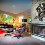 Artistically designed home in Broad Ripple