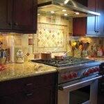 colorful kitchen tile backsplash