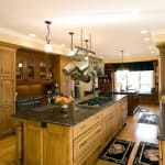 kitchen remodel with double islands