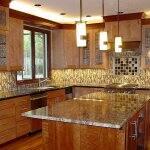 kitchen remodel with kitchen island