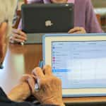 Technology abounds, enhancing lifestyle in today's senior living communities. (Photo courtesy of Three Pillars Senior Living Communities)