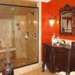 bathroom remodeling with walk-in shower