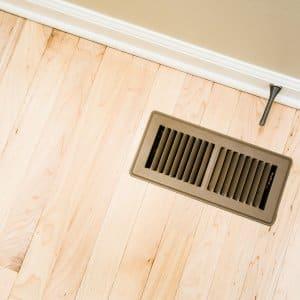 return air vent in wood floor - Electric Baseboard Heat