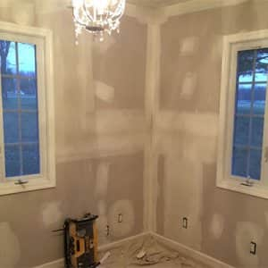 Who Patches a Wall after Plumbing or Electrical Work