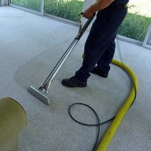 The purpose of agitation is to spread the chemical uniformly and completely over the carpet fibers and is essential for carpet cleaning, says Nugent. (Photo courtesy of Angie's List member Brian K. of Rocky River, Ohio)