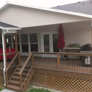 Getting permits, picking the right contractor and selecting the best deck material for your needs are all important choices to make when building a new deck. (Photo courtesy of Red Deer Construction/DECKo)