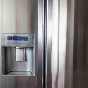 stainless steel refrigerator and regular maintenance