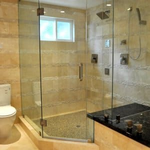 Pros And Cons Of Frameless Shower Doors Angies List - Seamless bathroom shower doors