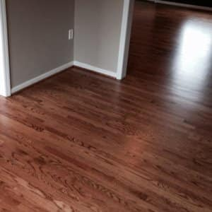 the best way to keep your wood floors in great shape is to sweep or vacuum