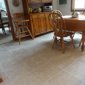 If your bathroom or kitchen floor gets cold in the wintertime, an in-floor radiant heating system may be a good fit for your home. (Photo courtesy of Angie's List member Carole M. of Eugene, Ore.)