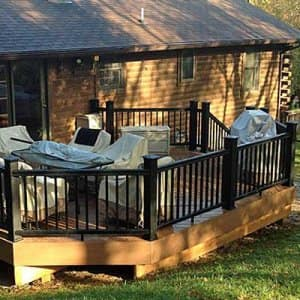 A new or refurbished deck can be a delight for much of the year. (Photo courtesy of Angie's List member Karl S. of New Market, Md.)