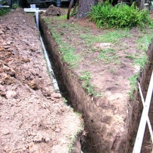 Don't assume that your insurance policy covers sewer pipe replacement. (Photo courtesy of John Ahrens)