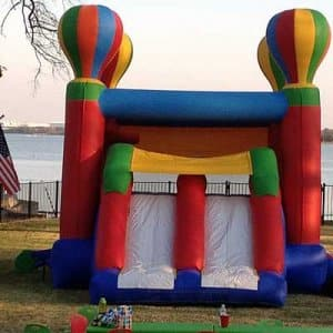 Consider how renting special equipment, such as a bounce house, can add life to any special event. (Photo courtesy of Angie's List member Kristian W. of Fort Worth, Texas)