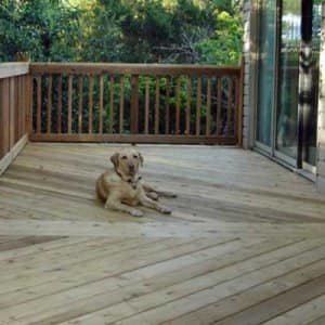 Twice-annual care will keep your deck looking great for years to come. (Photo courtesy of Angie's List member Lisa C.)