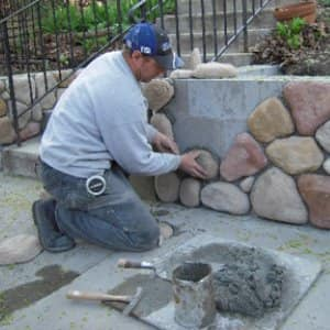 If your home's masonry is showing signs of age, it may be time to call out an expert. (Photo courtesy of Deborah Schoenholz)