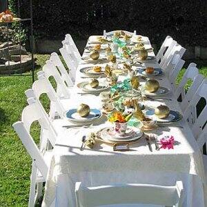A party planner can add a special touch to any kind of event, including a formal tea party. (Photo courtesy of Angie's List member William C.)