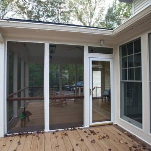 screened porch on deck (Photo by Angie's List)