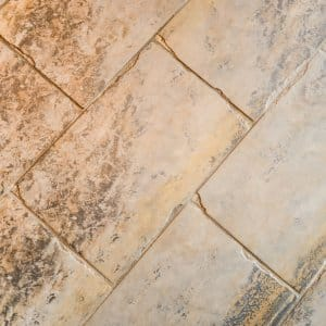 tile floor and grout