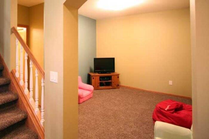 basic basement remodel