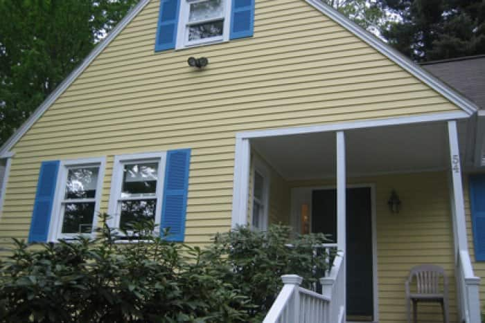 A House With A New Coat Of Paint