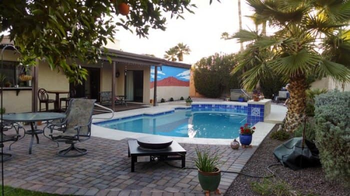 Regularly test water to maintain proper pool chemical balance. (Photo courtesy of member James B. of Phoenix)
